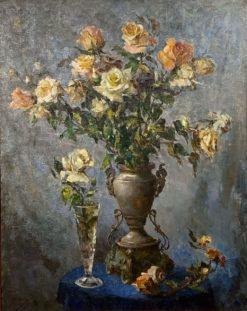картина художника «Крымские розы»