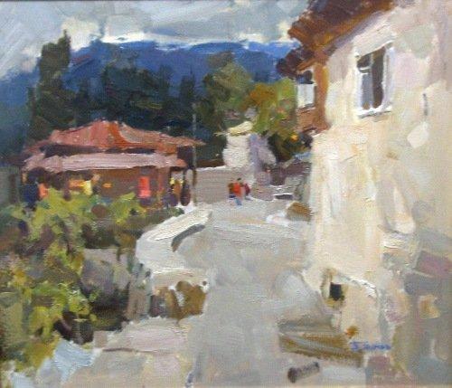 картина П.Шумов Осень в Гурзуфе