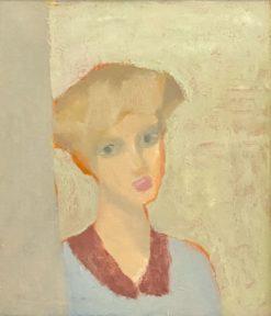 картина художника Виктор Дынников «Лиза»