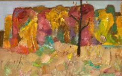 картина художника Валерий Кокурин Осень