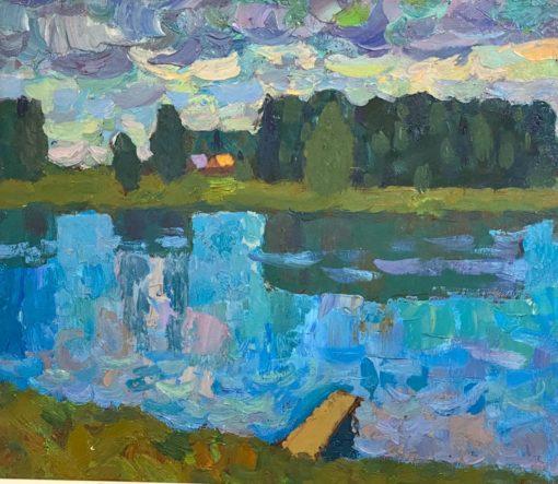 картина художника Владимир Хамков «Похолодало» 2009