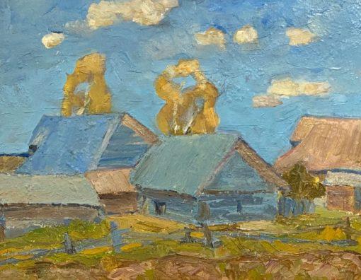 картина художника А.Смирнов «Облака»