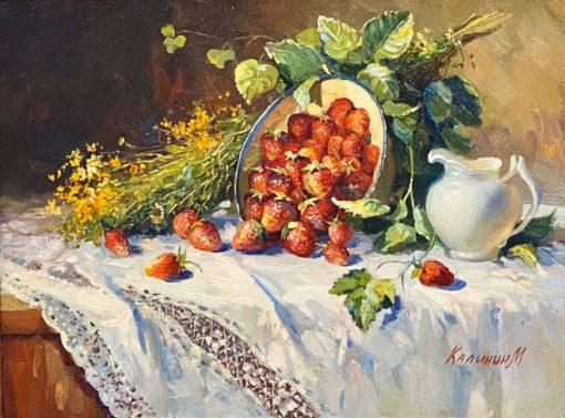 Картина художника Михаила Калинин Виктория созрела