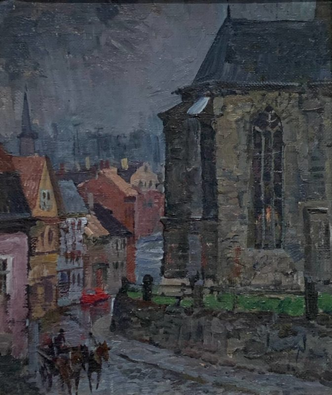 М.Абакумов - «Дождь в Рудольштате»